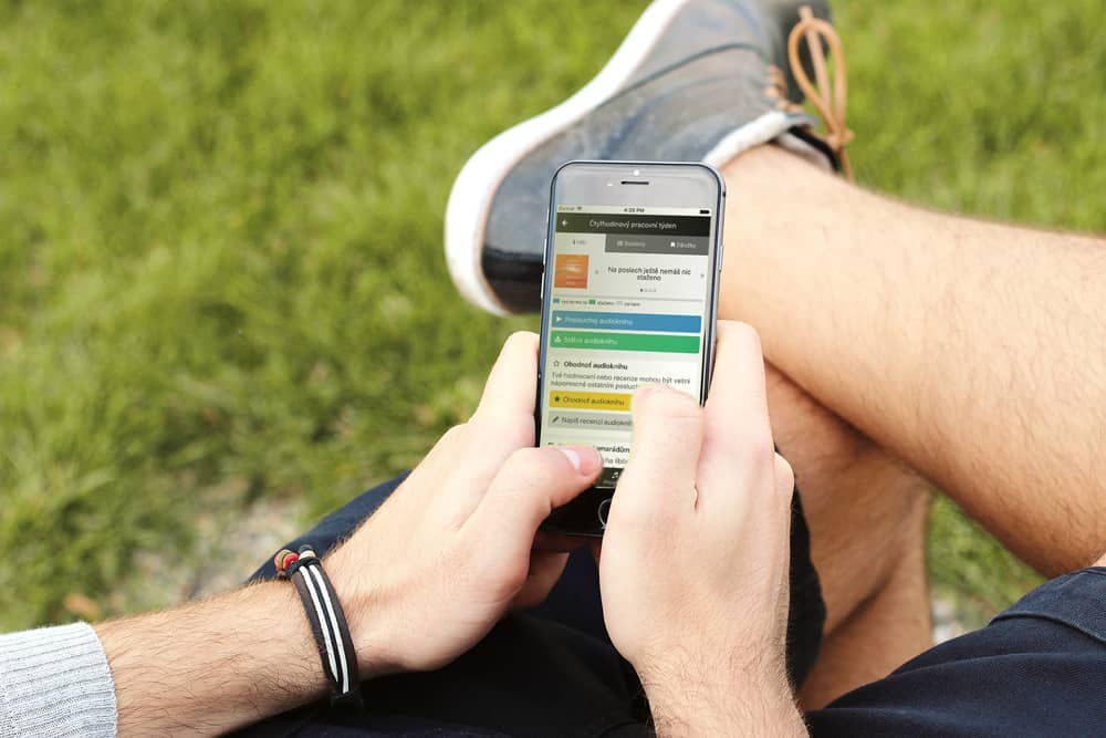 pohodlne nakupovanie audioknih v mobiloch