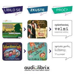 Líbila se vám jedna audiokniha? Zkuste tu druhou. My vám řekneme proč!
