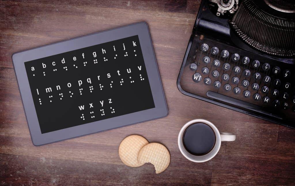 Zpřístupnění webů pro nevidomé zákazníky