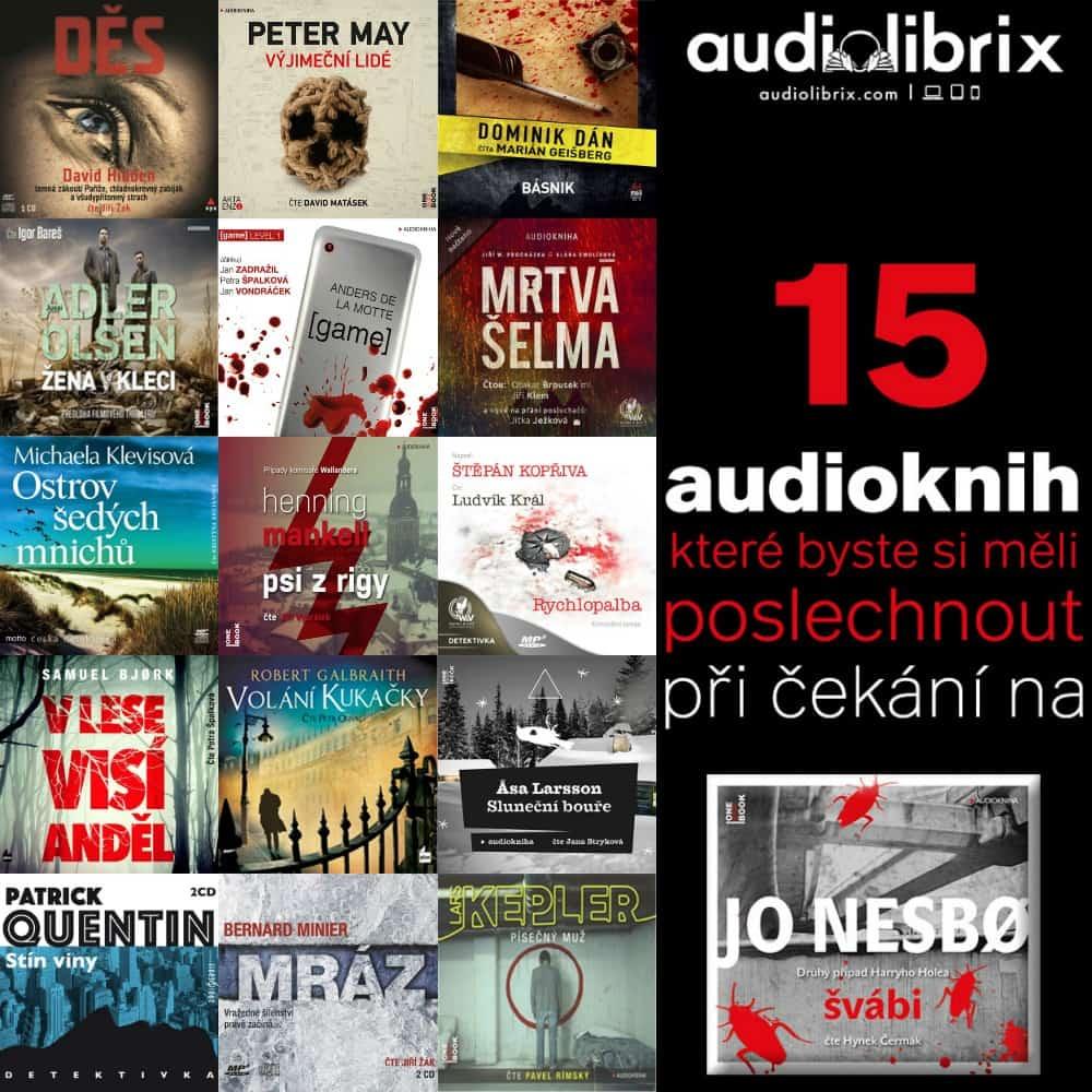 """15 audioknih, které si poslechnout při čekání na """"Švábi"""""""