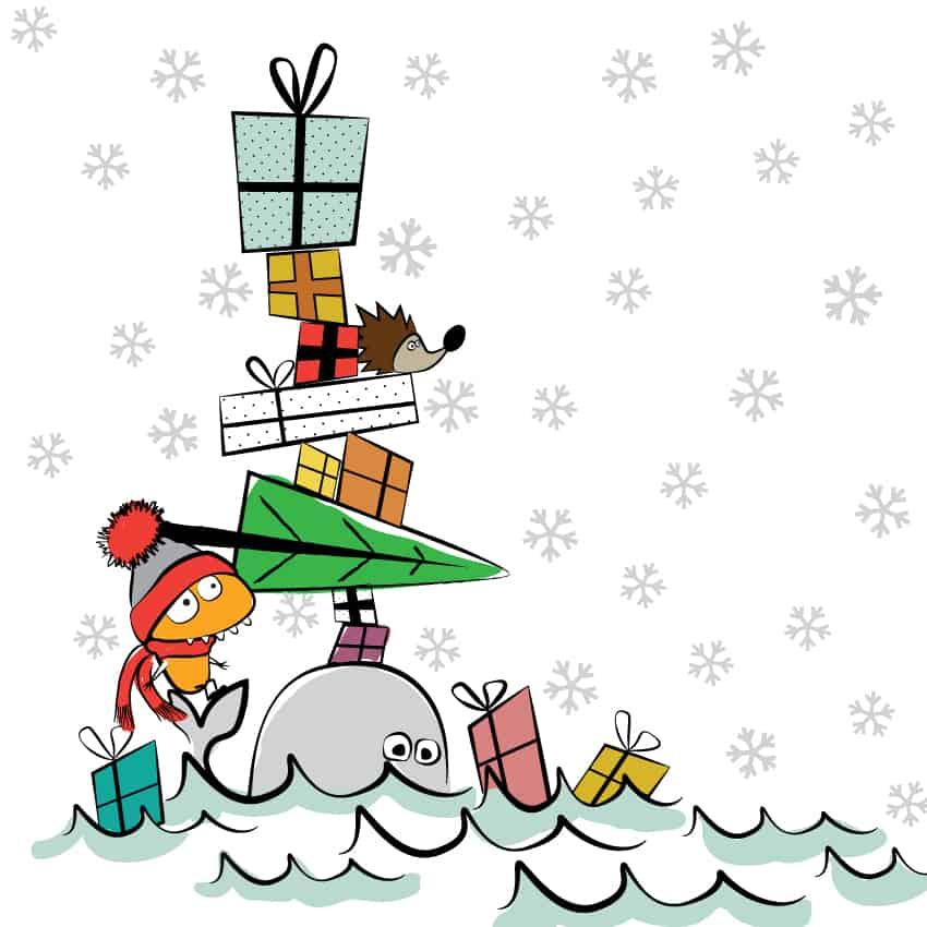 Audino, velryba a dárky