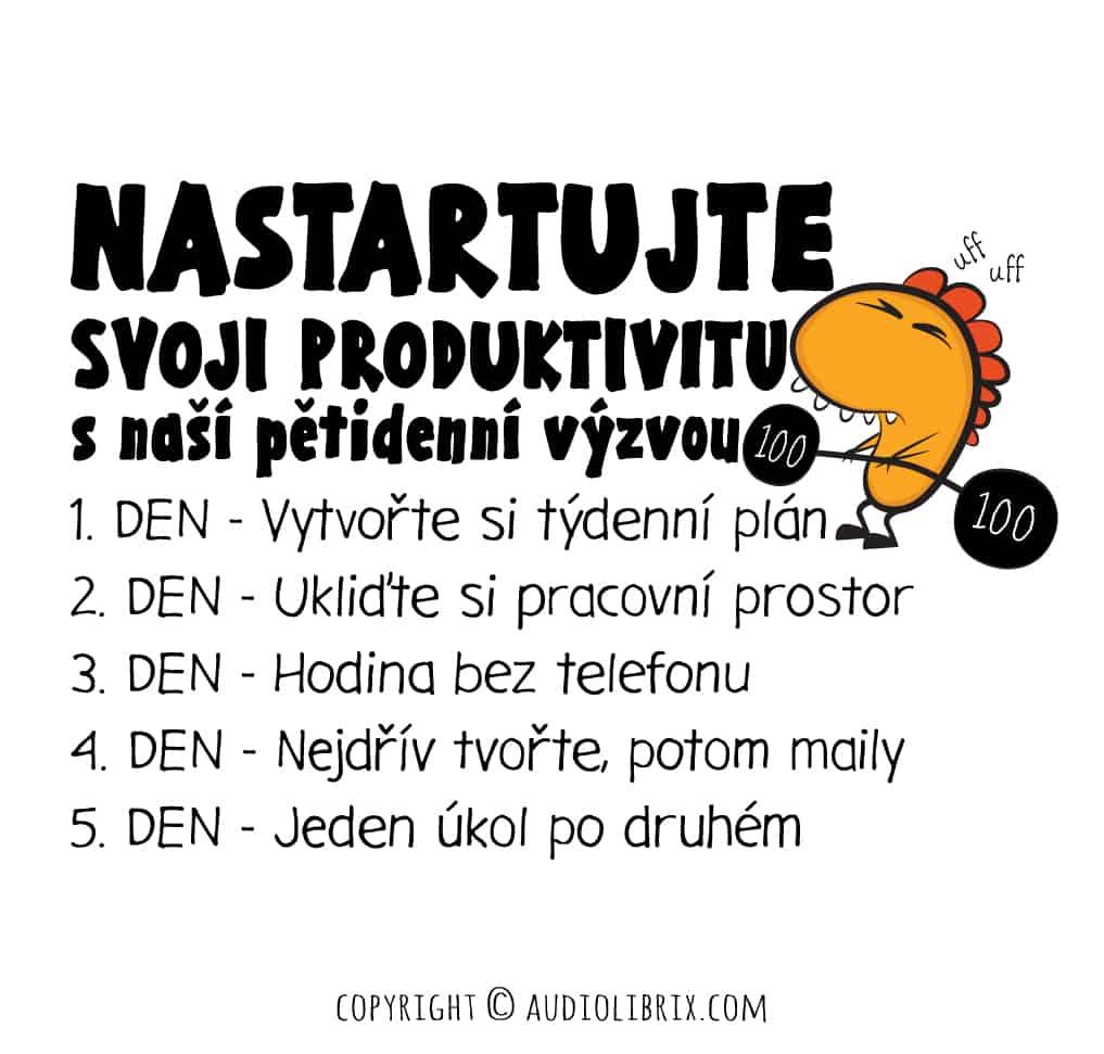 5 kroků k produktivitě